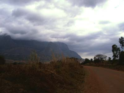 View of Mount Mulanje from Phalombe Road